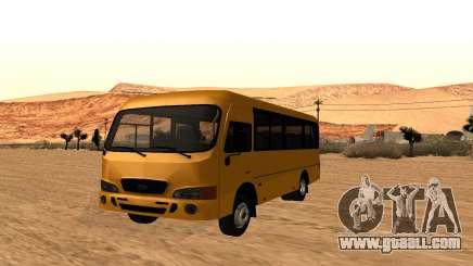 Hyundai County SWB for GTA San Andreas