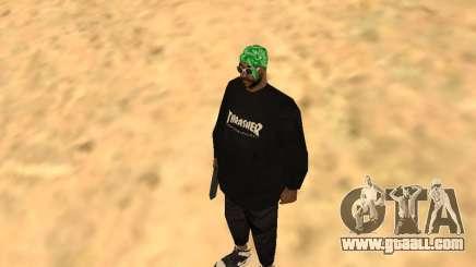 Fam1 Thrasher Worldwide for GTA San Andreas