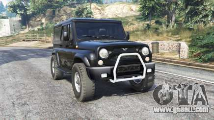 UAZ 3159 bars v3.0 [replace] for GTA 5