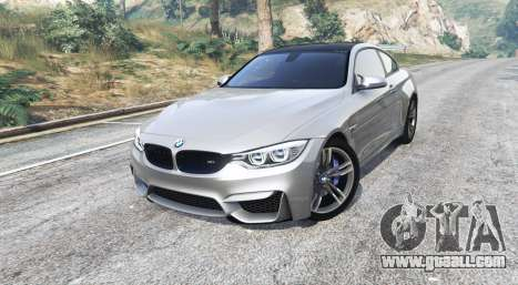 GTA 5 BMW M4 (F82) 2015 [replace] right side view