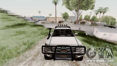 Mitsubishi Pajero v1.3 for GTA San Andreas