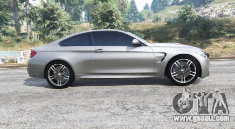 GTA 5 BMW M4 (F82) 2015 [replace] left side view