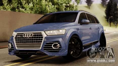 Audi SQ7 for GTA San Andreas