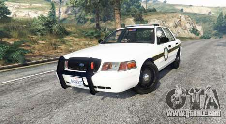 GTA 5 Ford Crown Victoria State Trooper [replace] right side view