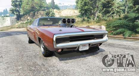 Dodge Charger RT (XS29) 1970 v4.0 [replace] for GTA 5