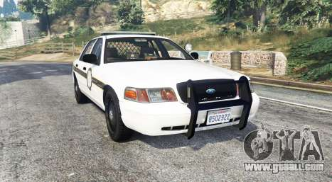 Ford Crown Victoria State Trooper [replace] for GTA 5