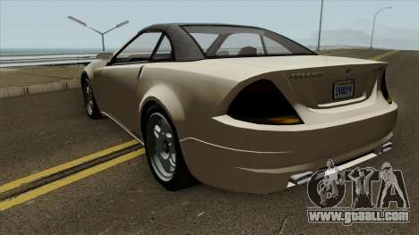 GTA IV Benefactor Feltzer CC Classic for GTA San Andreas