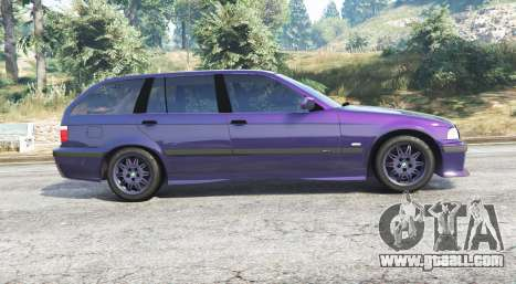 GTA 5 BMW M3 (E36) Touring v2.0 [replace] left side view