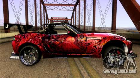 Mazda MX-5 Miata Rocket Bunny 2017 for GTA San Andreas