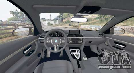 GTA 5 BMW M4 (F82) 2015 [replace] rear right side view