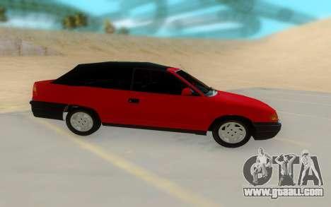 Opel Astra F Cabrio for GTA San Andreas