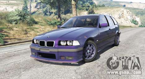 GTA 5 BMW M3 (E36) Touring v2.0 [replace] right side view