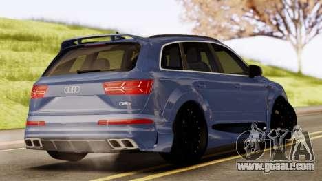 Audi SQ7 for GTA San Andreas left view