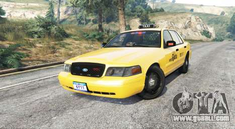 GTA 5 Ford Crown Victoria Undercover Police [replace] right side view