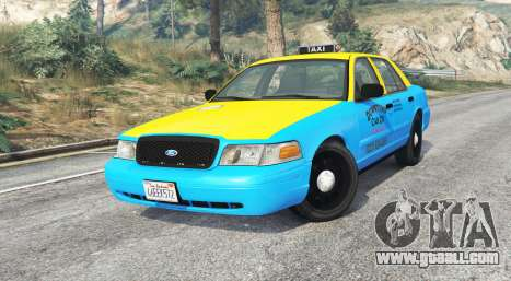 Ford Crown Victoria 2008 Taxi v1.2b [replace]