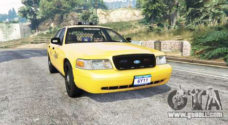 Ford Crown Victoria Undercover Police [replace] for GTA 5