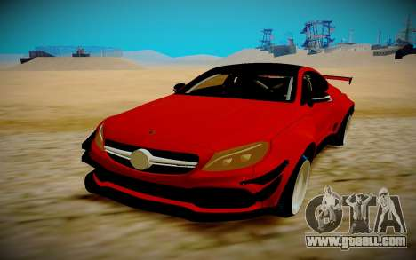 Mercedes Benz C63 S Coupe for GTA San Andreas