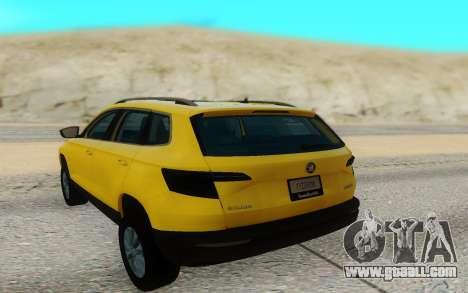 Skoda Karoq for GTA San Andreas