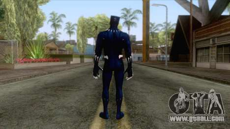 Blue Lion Skin for GTA San Andreas