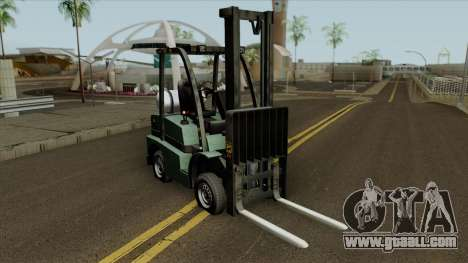GTA V HVY Forklift for GTA San Andreas