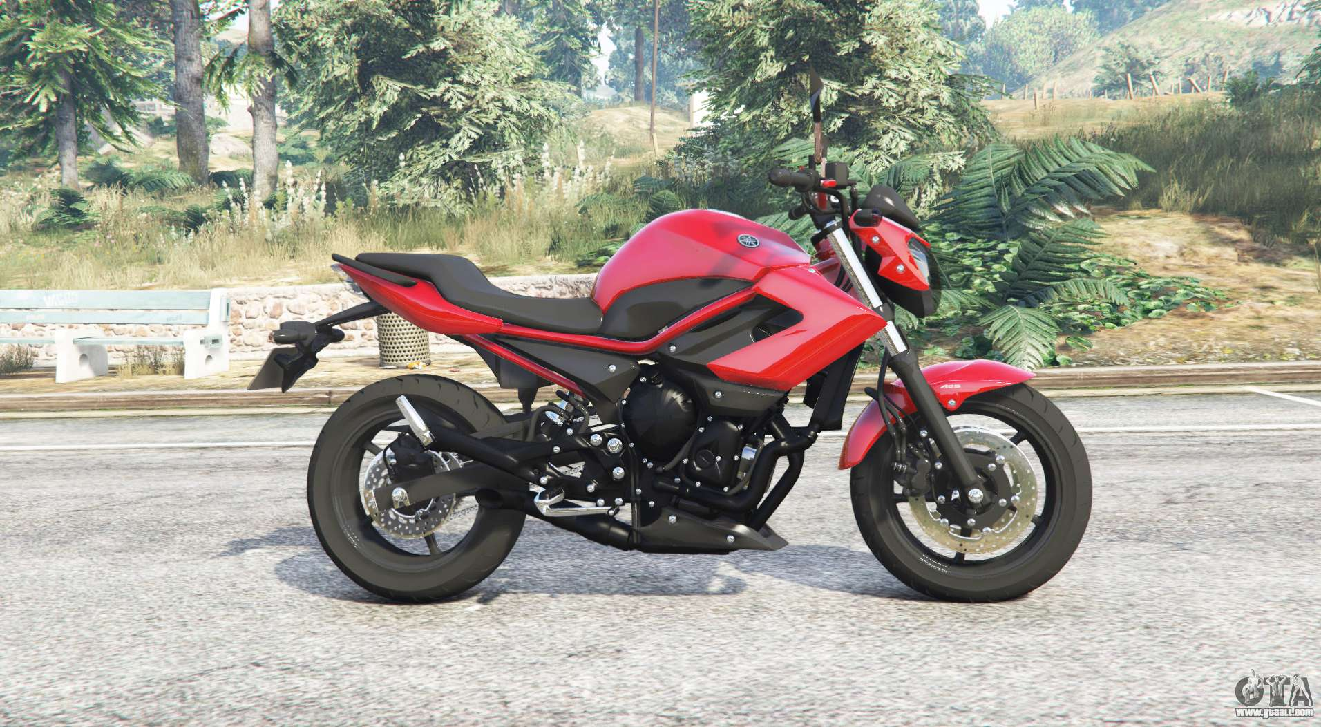 yamaha xj6 v1 1 replace for gta 5. Black Bedroom Furniture Sets. Home Design Ideas