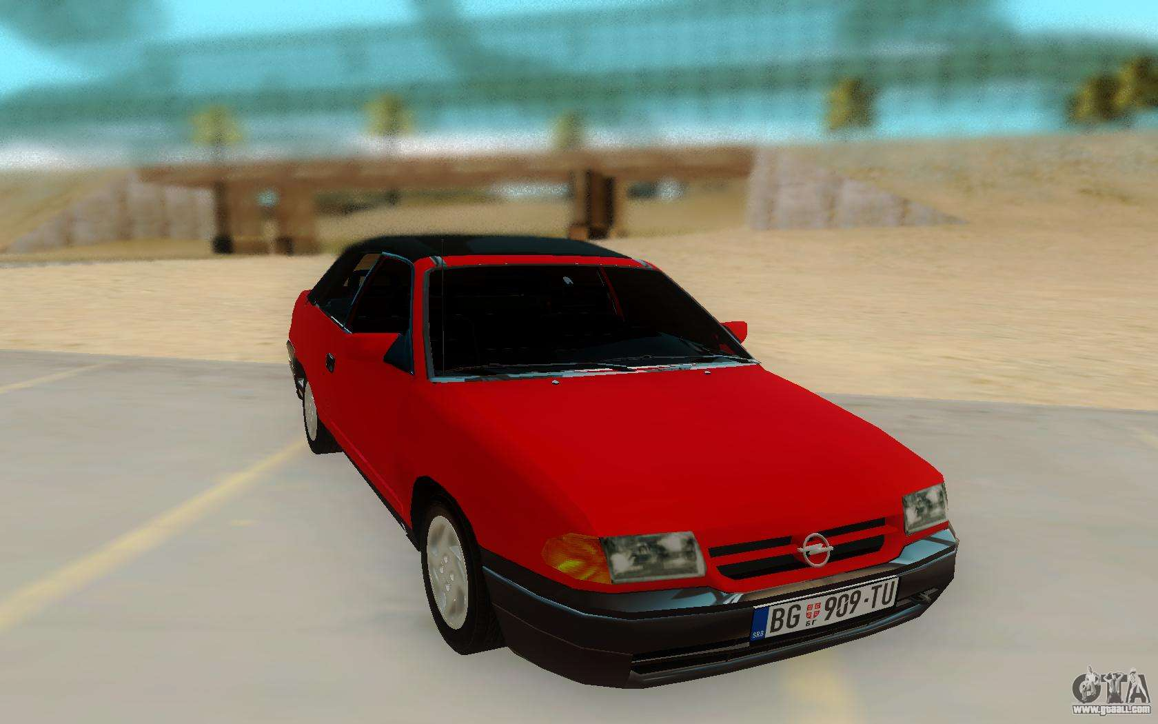 opel astra f cabrio for gta san andreas. Black Bedroom Furniture Sets. Home Design Ideas