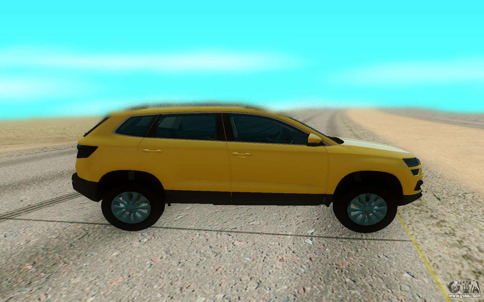 skoda karoq for gta san andreas. Black Bedroom Furniture Sets. Home Design Ideas