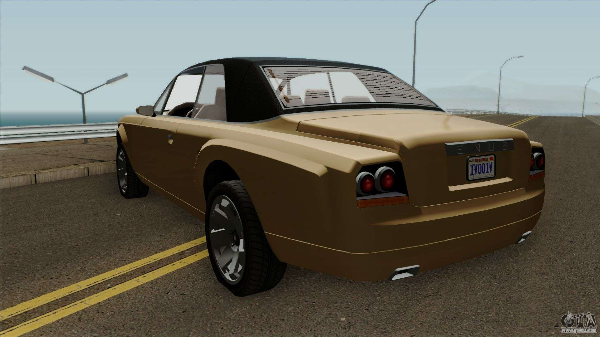 GTA IV Enus Super Drop Diamond for GTA San Andreas