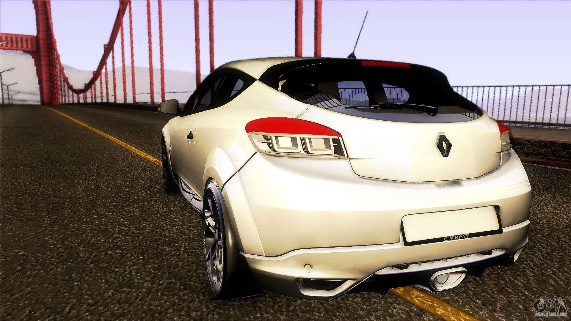Renault Megane 3 RS Phase 2 for GTA San Andreas