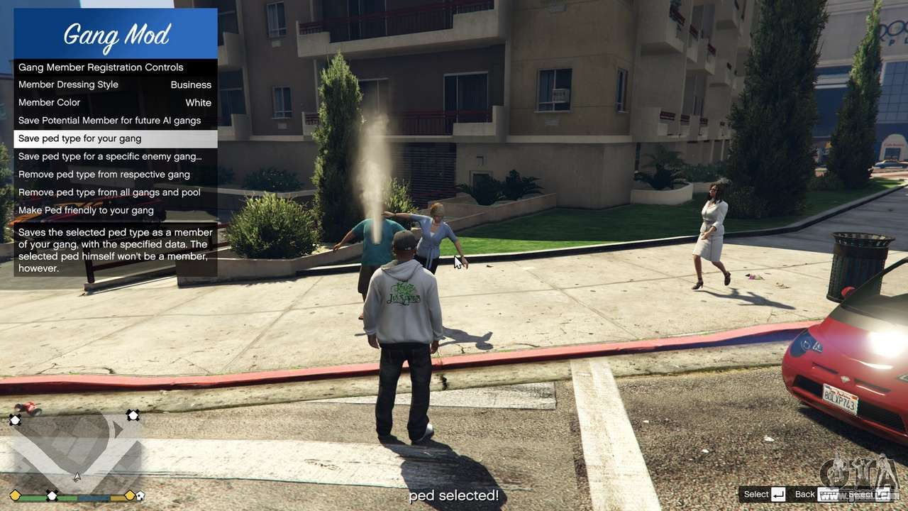 Gang and Turf Mod 1 3 9 for GTA 5