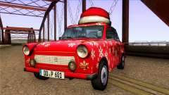 Trabant 601 Christmas Edition for GTA San Andreas