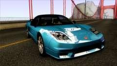 Honda NSX-R 2005 for GTA San Andreas