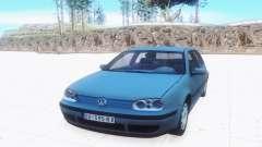 Volkswagen Golf Mk4 for GTA San Andreas