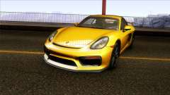 Porsche Cayman GT4 981C 2016 for GTA San Andreas