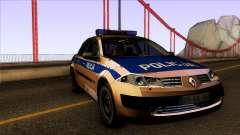 Renault Polskiej Policji for GTA San Andreas