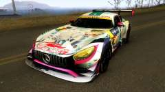 Mercedes Benz AMG GT3 Goodsmile Racing 2018 for GTA San Andreas