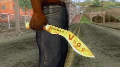 The VuQo - Kukri for GTA San Andreas