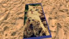 Beach mats with kittens for GTA San Andreas