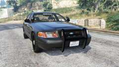 Ford Crown Victoria FBI v3.0 [replace] for GTA 5