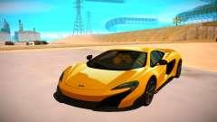McLaren 675LT for GTA San Andreas
