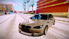 BMW M5 E60 silver for GTA San Andreas