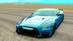 Nissan GTR NISMO blue for GTA San Andreas