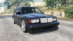 Mercedes-Benz 190 E Evolution II v1.2 [replace] for GTA 5