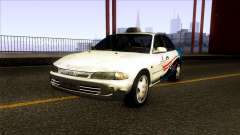 Proton Wira Terengganu City Taxi for GTA San Andreas