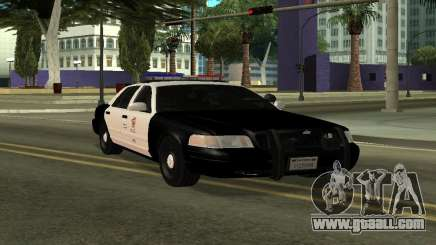 LAPD Ford Crown Victoria for GTA San Andreas