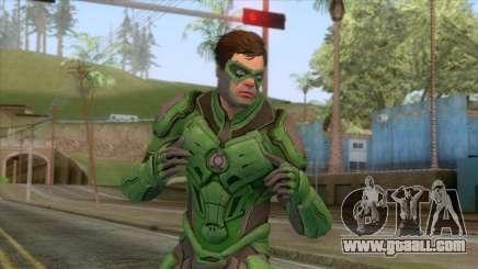 Injustice 2 - Green Lantern Elite Skin for GTA San Andreas