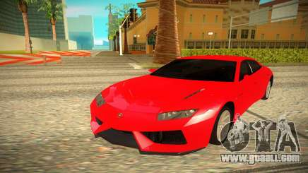 Lamborghini Estoque for GTA San Andreas