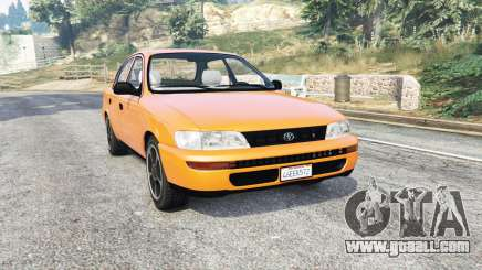 Toyota Corolla v1.15 [replace] for GTA 5