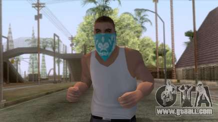 New Varios Los Aztecas Skin 1 for GTA San Andreas