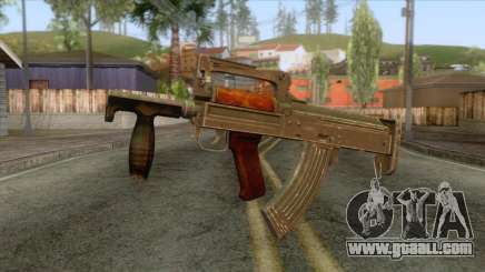 Playerunknown Battleground - OTs-14 Groza v5 for GTA San Andreas